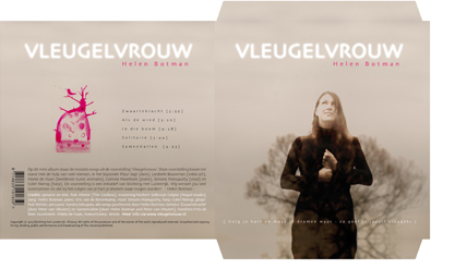 Vleugelvrouw - album wallet (foto: Frits de Beer)
